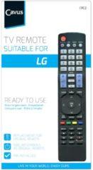 Cavus afstandsbediening TV afstandsbediening voor LG zwart