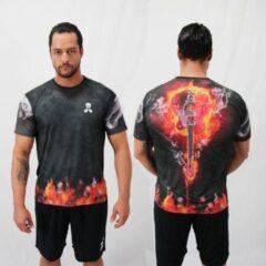 Bones Sportswear Heren T-shirt Guitar maat M