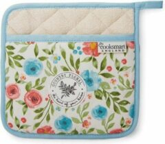 Blauwe Cooksmart Pannenlap Country Floral