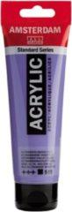 Paarse Royal Talens Standard tube 120 ml Ultramarijn violet licht dekkende acrylverf ultra marijn violet licht