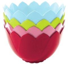 Zak! Designs 2174-J370 Kommenset Melamine Multi kleuren 4stuk(s) eetschaal