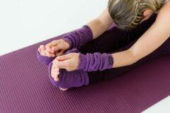 Paarse Fitnessmat gym - 10 mm violet Fitnessmat YOGISTAR