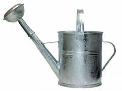 Zilveren Verzinkte Tuingieter Met Afneembare Broes / Sproeikop - 5 Liter