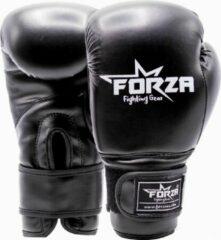 Zwarte Forza Fighting Gear FORZA KINDER KUNSTLEREN BOKS HANDSCHOENEN