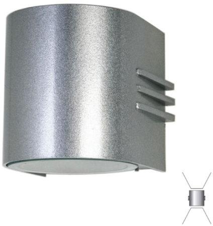 Afbeelding van Albert wandlamp Facade met 2 powerleds up en down Albert-Leuchten 692308