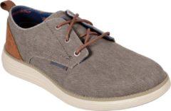 Skechers Status 2.0 Pexton Heren Sneakers - Taupe - Maat 41
