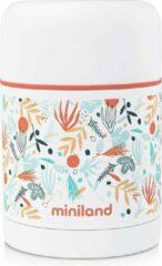 Miniland Voedselcontainer Mediterraans 600 Ml Oranje 3-delig
