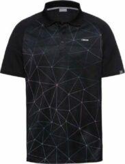 HEAD Performance Polo Shirt Heren Zwart maat XL