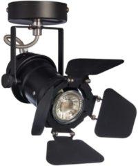Kwantum Spots Studio 1-lichts Zwart