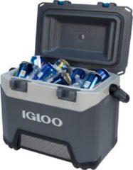 Grijze Igloo BMX 25 koelbox - 23 liter - extra zware kwaliteit voor op de bouw