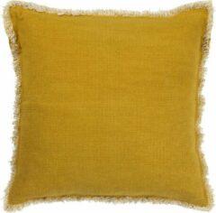 Roestvrijstalen Dutch Decor Kussenhoes Burto 45x45 cm golden glow