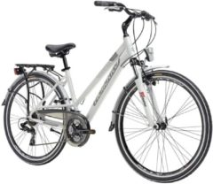 28 Zoll Damen Trekking Fahrrad 21 Gang Adriatica Sity 2 Lady Adriatica weiß