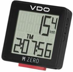 VDO M ZERO WR Fietscomputer - Bedraad - Zwart