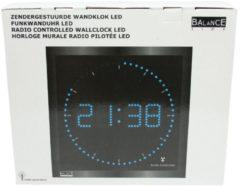 Balance Time klok radiosynchrone. netbedrij HI-TECH, 250x250x60mm, wandmontage
