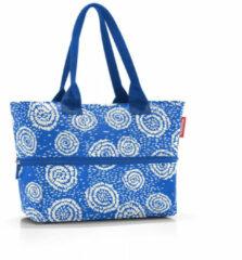 Reisenthel Shopper E1 Shopper Schoudertas - 12L - Batik Strong Blue Blauw