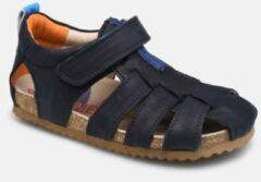 Shoesme donkerblauwe sandaal met dichte neus (BI21S091-B). Maat 21