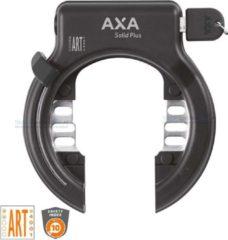 Zwarte AXA Solid Plus Ringslot - Geschikt voor insteekketting