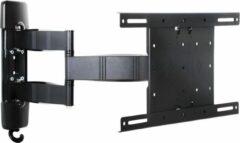Zwarte Multibrackets Muursteun VESA Flexarm Tilt & Turn III
