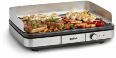 Tefal Maxi Plancha Cb690d Gourmetstellen En Grillplaten - Zwart
