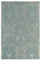 Beige Morris & Co - Laagpolig vloerkleed Morris & Co Autumn Flowers Eggshell 27508 - 170x240 cm