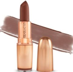 Rode Makeup Revolution Iconic Matte Nude Revolution Lipstick - Inclination