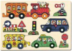 Bino mertens Puzzel verkeer 'Travelly'
