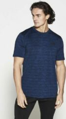 Fitness Shirt Heren Blauw Athleisure - Pursue Fitness