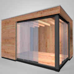 Westwood Office at Home | Tiny House | Design | 400 x 300 cm | Horizontaal