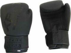 XPRT Fight Gear XPRT Pro bokshandschoenen Mat Zwart 10 oz