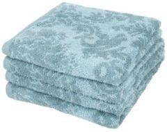 SEASTAR Premium Handtuch 4er-Set blau
