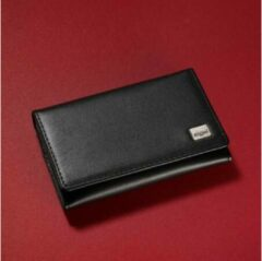 Sigel Visitekaart etui Torino 30 kaarten (b x h x d) 105 x 70 x 20 mm Zwart Nappaleer VZ200