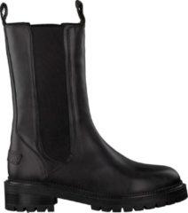 Shabbies Dames Chelsea boots 182020275 - Zwart - Maat 39