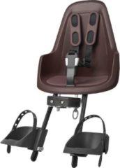 Bobike One Mini Fietsstoeltje Voor - Donker Bruin