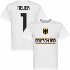 Retake Duitsland Neuer 1 Team T-Shirt - Wit - M