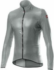 Castelli - Aria Shell Jacket - Fietsjack maat L, grijs