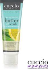Cuccio Tube Butter & Scrub 113 gr White Limetta & Aloë Vera