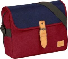 New Rebels Rebels Creek Medium Flap Burgundy Rood II | Schoudertas
