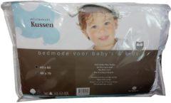 Witte Briljant Baby Briljant Bedmode - Kinder hoofdkussen - Microvezel - 40 x 60 cm