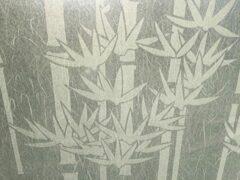 Merkloos / Sans marque Anti inkijk | Decoratieve raamfolie | bamboo design | zelfklevend | 68 x 300 | krasvast | uniek design | privacy verhogend | incl gratis aanbrengset