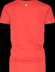 Vingino Essentials T-shirt met biologisch katoen felrood