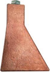 Hasmi koperstuk voor soldeerbout zoolbout, roodkoper, hamervormig, 750g