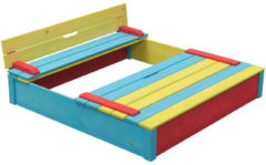 SwingKing Swing King houten zandbak Sepp multikleur 7850035