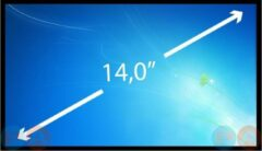 A-merk 14.0 inch Laptop Scherm EDP Slim 1366x768 Glossy B140XTN02.D HW6A