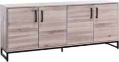 Möbel Ideal Sideboard Solidon in Wildeiche gekälkt 200 cm Breit