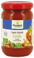 Priméal Tomatensaus Basilicum Bio (200g)