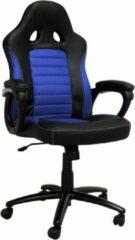 Game Hero x LC-Power Gaming Stoel - Bureaustoel - Vaste Armleuningen - Stoel Met Hoofdleuning - Game Stoel - Blauw