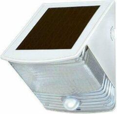 Brennenstuhl Solar led wandlamp wit - Buitenlamp op zonneenergie - Wandlamp op zonneenergie - Solar buitenlamp