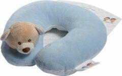 Gamberritos Nek Kussen Kinderen One Size Blauw Hond