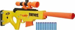 Nerf Speelpistool Fortnite Basr L 27,2 Cm Geel/oranje 2-delig