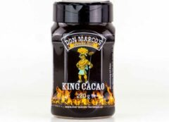 Don Marco's Barbecue Don Marco's - King Cacao - BBQ RUB - 220 gram